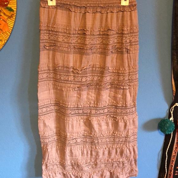 Buckle Dresses & Skirts - Boho